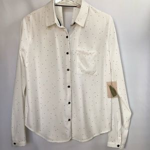NWT Forever 21 Woven Long-sleeve Shirt